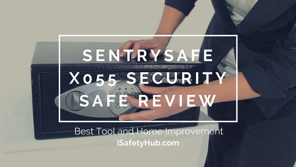 sentrysafe x055 security safe review