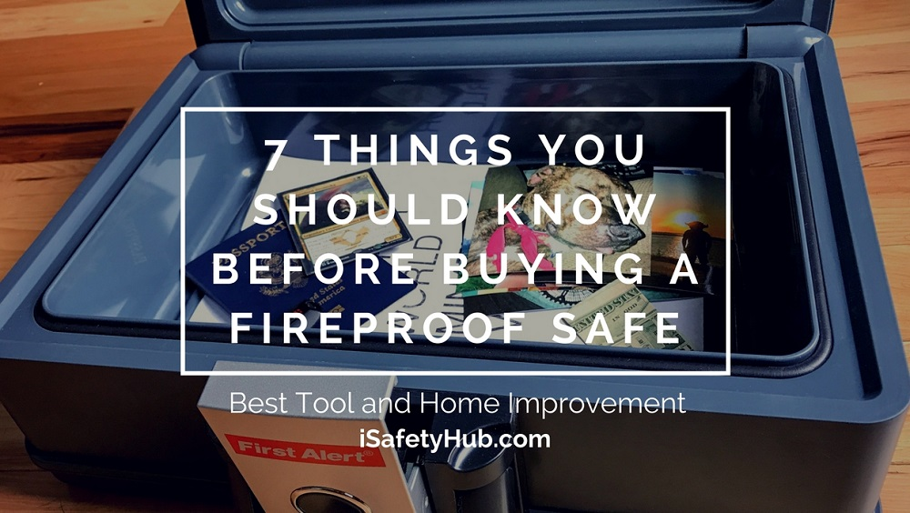 7 things you should know before buying a fireproof safe