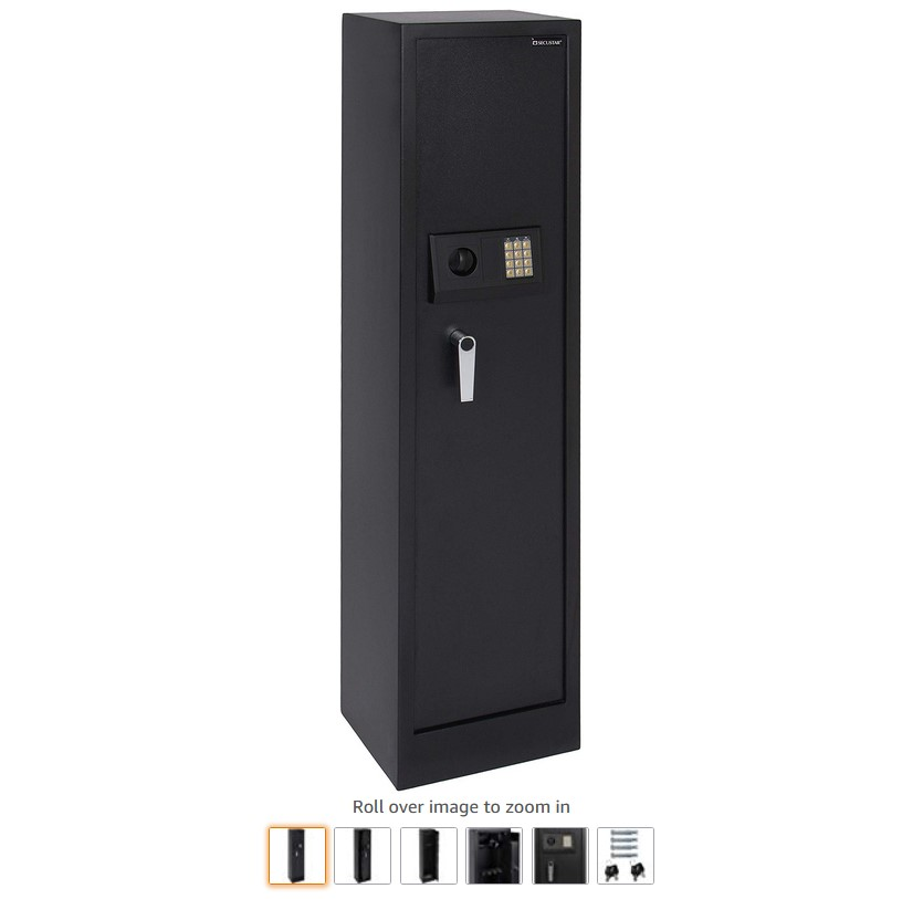 9 Best Choice Products Steel Electronic Storage Safe for Firearms, Valuables wDigital Keypad, Keys, Padded Interior