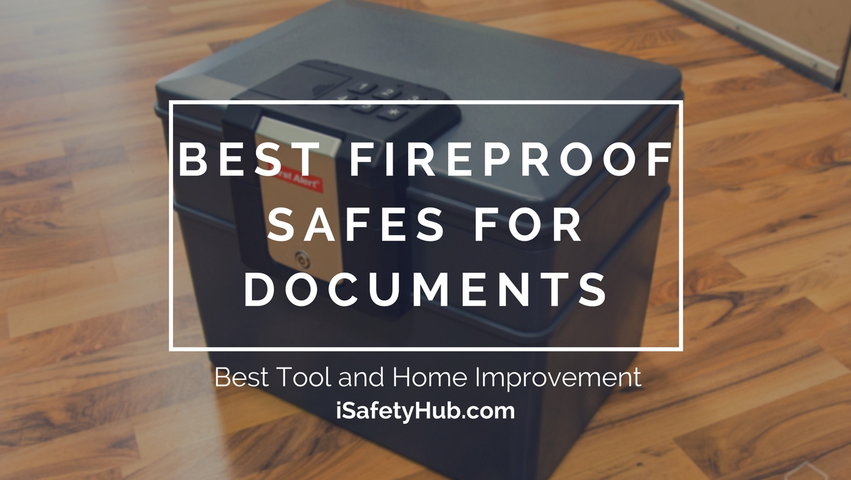 best fireproof safes for documents