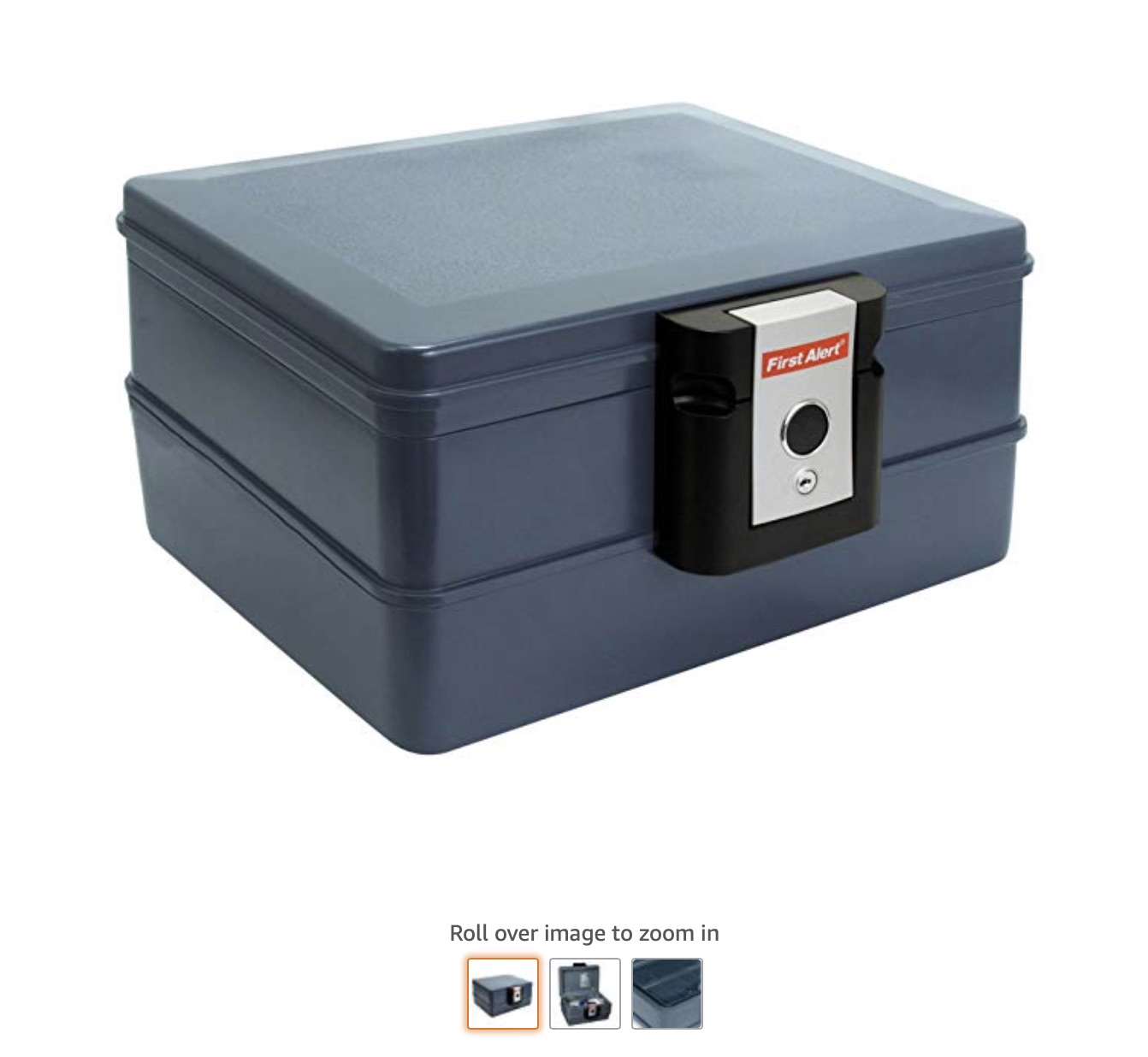 6 First Alert 2030F 0.39 Cubic Feet Fire and Water Safe, Grey copy