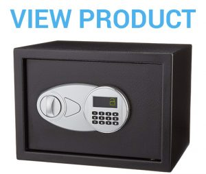 1 AmazonBasics Security Safe - 0.5-Cubic Feet