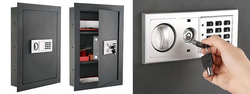 I Fell In Love With The Elegant Grey Color Of Paragon S 7725 Wall Safe As Soon Saw It Interior Dimensions Are 20 25 X 14 3 75