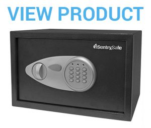 2 SentrySafe Security Safe, Medium Digital Lock Safe, 0.5 Cubic Feet, X055