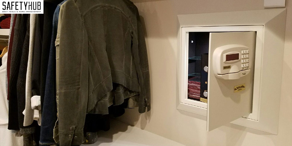 Wall Safes Are Most Commonly Located In A Master Bedroom Closet, And This  Is The First Place A Thief Would Check.