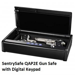 SentrySafe QAP2E Gun Safe with Digital Keypad