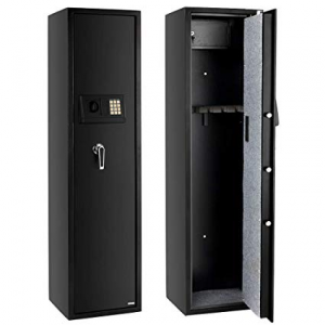 FCH Electronic Rifle Gun Safe Large Firearms Shotgun Storage Cabinet