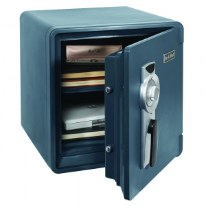 First Alert 2087F Waterproof and Fire-Resistant Bolt-Down Combination Safe