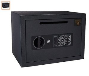 1 SentrySafe Depository Safe, Medium Dual Key Lock Money Safe with Drop Slot, 0.38 Cubic Feet, UC-039K copy