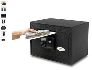 10 Viking Security Safe VS-25DBLX Depository Biometric Safe Fingerprint Safe Small Drop Slot Safe copy