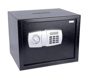5 ereneLife DropBox Safe Box | Safes & Lock Boxes | Front Loading Safe Cash Vault Drop Lock | Safe Security Box | Digital Safe Box | Money Safe Box | Steel Alloy Drop Safe Includes Keys copy