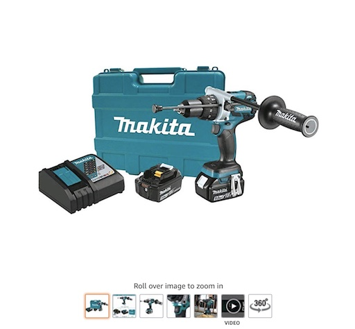 2 Makita XPH07TB Cordless Hammer Drills copy
