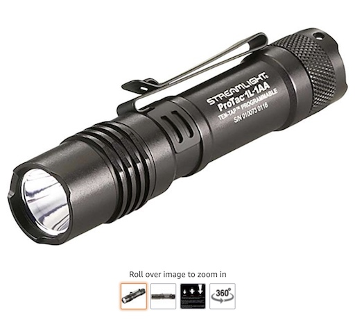 7. Streamlight 88061 pro-tac tactical light. (check here) copy