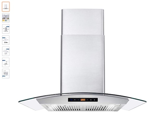 2 Cosmo COS-668AS750 Wall Mount Range Hood (check price)