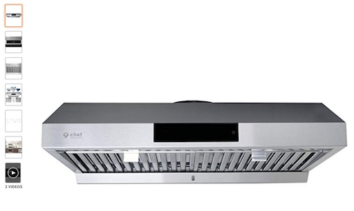 2. Hauslane Chef 30' PS18 Under Cabinet Range Hood (check price) copy