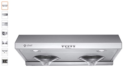 "5. Hauslane Chef Range Hood30"" C400 (check price) copy"