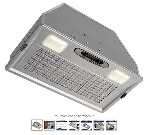 6 Broan Aluminum Power Pack Range Hood Insert (check price)