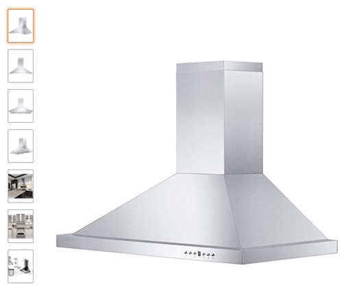 7 ZLINE 760 CFM Wall Mount Range Hood (check price)