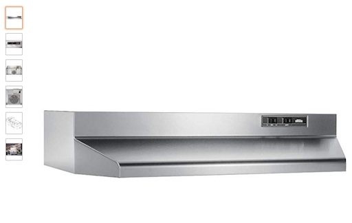 7. Broan 403004 30 In. stainless Steel Ducted Under Cabinet Range Hood (check price) copy