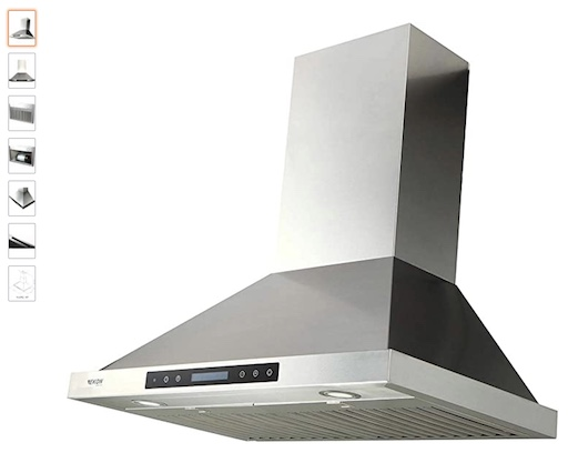 8 EKON Wall Mount Range Hood (check price)