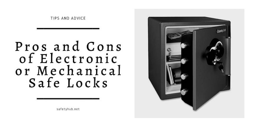 Pros and Cons of Electronic or Mechanical Safe Locks