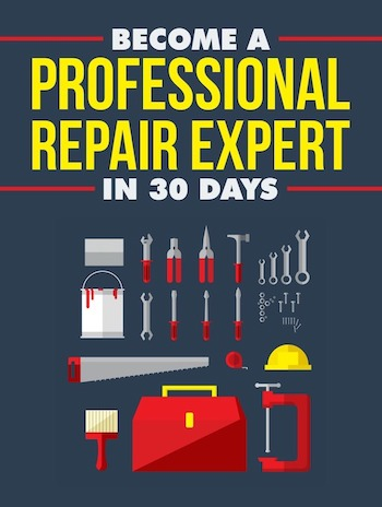 front become a profesional repair expert ebook cover copy
