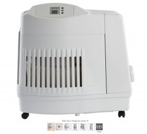 1 AIRCARE MA1201 Whole-House Console-Style Evaporative Humidifier, White