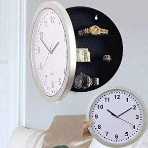 best place to put a safe Wall Clock