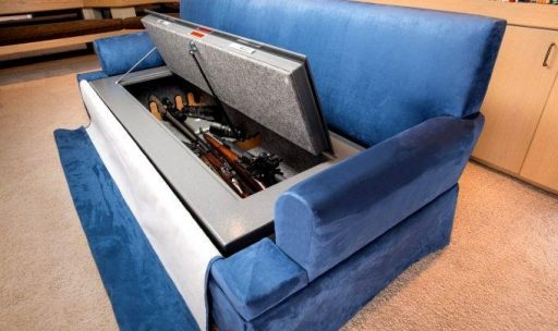 #9 Use Your Couch as a Hidden Gun Cabinet