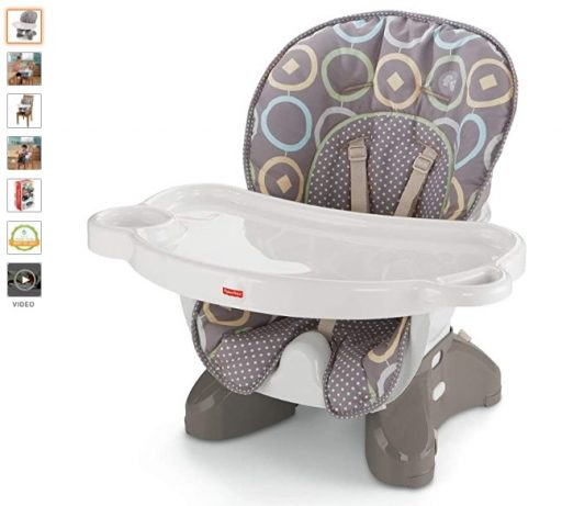 Best High Chair For Small Spaces 10 Fisher-Price SpaceSaver High Chair