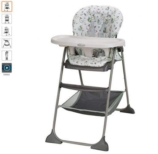Best High Chair For Small Spaces 3 Graco Slim Snacker Highchair