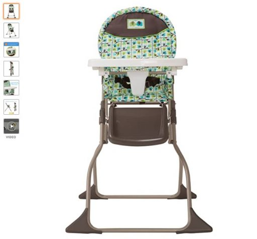 Best High Chair For Small Spaces 4 Cosco Simple Fold High Chair