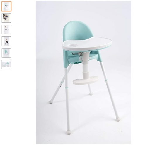 Best High Chair For Small Spaces 6 Primo Cozy TOT Deluxe Convertible Folding High Chair