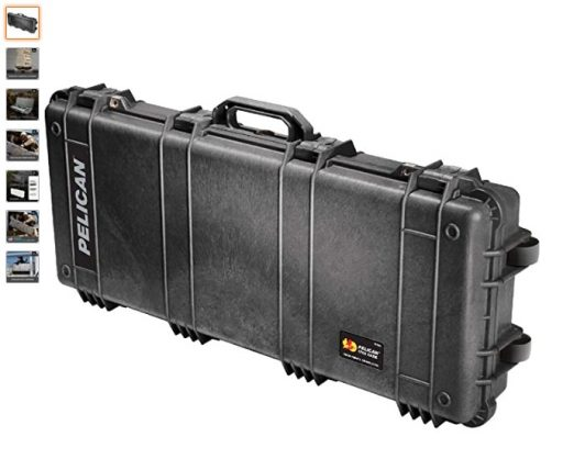 Best AR Cases 2 Pelican 1700 Rifle Case With Foam (Black)