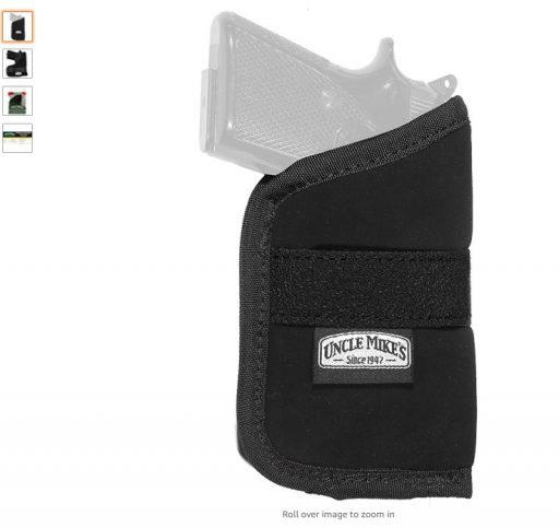 Best Pocket Holsters 1 Uncle Mike's Off-Duty and Concealment Nylon OT Inside-The-Pocket Holster