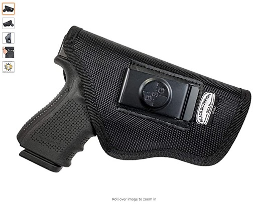 Best Pocket Holsters 4 Black Scorpion Gear WB and Pocket Holster Fits 1911 Beretta 92F FN FNP 45, P9 Glock 17, 22 HK P7, VP9 Sig Sauer P320 Full, P226; Springfield XD, XDM and All - Copy