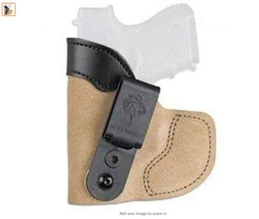 Best Pocket Holsters 6 DeSantis Pocket-Tuk Inside The Waistband or Pocket Holster Colt Pony, Colt Mustang, Sig p238, P238 Equinox, S&W M&P Bodyguard 380