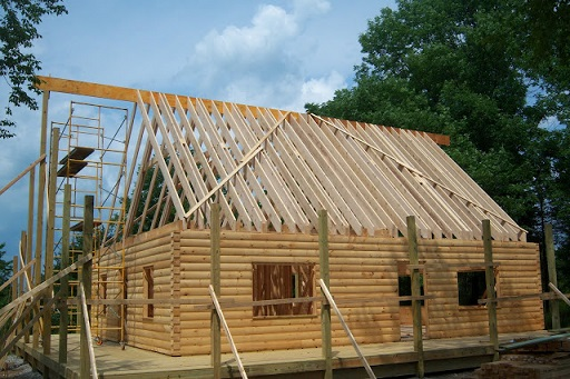 How to Make Your Log Cabin Sturdy - Framing and Roofing - Copy