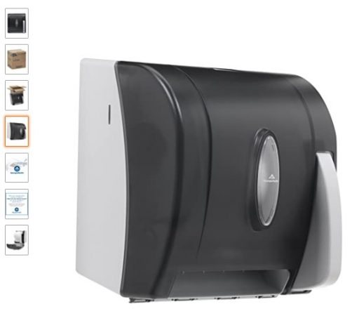 best Paper Towel Dispensers 1 Universal Push-Paddle Hardwound Paper Towel Dispenser
