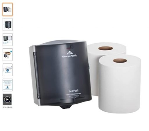 best Paper Towel Dispensers 2 SofPull Centerpull Regular Capacity Paper Towel Dispenser Trial Kit