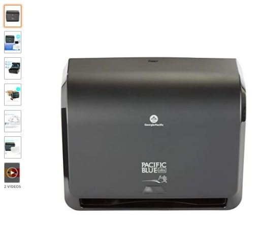 "best Paper Towel Dispensers 8 Pacific Blue Ultra 9"" Mini Automatic Paper Towel Dispenser by GP PRO"