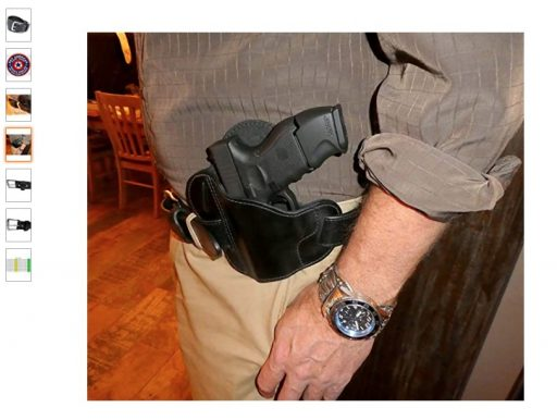 best concealed carry belts 8 DTOM Buffalo Tough Concealed Carry CCW Leather Gun Belt - 14 ounce 1.5 inch - Handmade