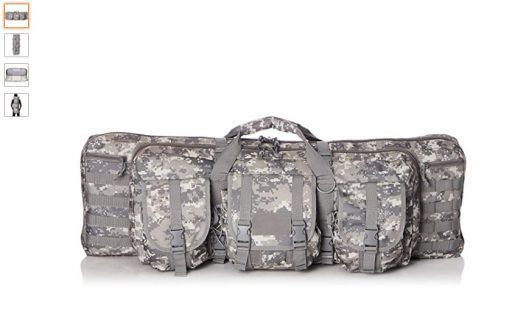 best double rifle cases 1 VISM by NcSTAR Double Carbine Case