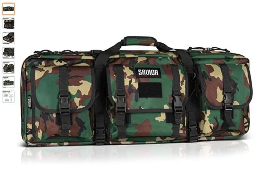 best double rifle cases 4 Savior Equipment American Classic Tactical Double Short Barrel Rifle Gun Case Firearm Bag