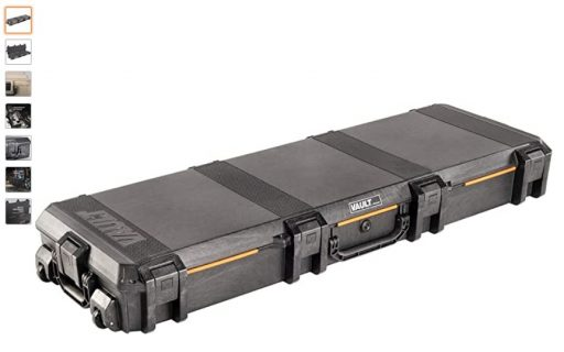 best double rifle cases 7 Vault by Pelican - V800 Double Rifle Case with Foam (Black)