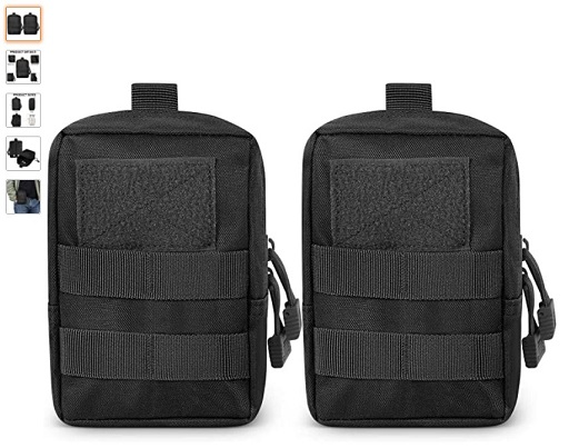 best molle pouches 10 Gogoku Genleas Molle Pouch Multi-Purpose Compact Tactical Waist Bags Utility Water-Resistant EDC Pouch - Copy