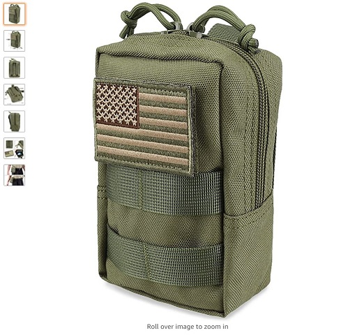 best molle pouches 3 AMYIPO MOLLE Pouch Multi-Purpose Compact Tactical Waist Bags Small Utility Pouch - Copy