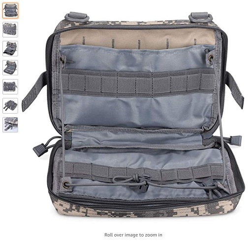 best molle pouches 5 WYNEX Tactical Admin Molle Pouch, Medical EDC EMT Utility Bag Shell Design Attachment Pouches 1000D Nylon Hiking Belt Bags Waterproof - Copy