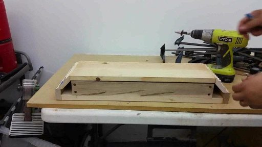 4 How To Build Hidden Gun Shelf Step six Prepare joining support assembly to top assembly