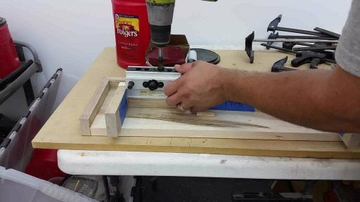 5 How To Build Hidden Gun Shelf Step six Prepare joining support assembly to top assembly
